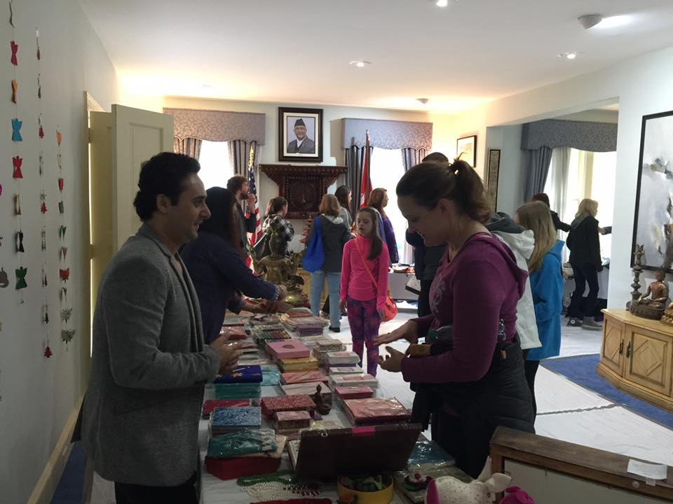 Noa S Arts And Handicrafts Exhibition In Passport Dc With The